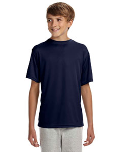 Navy Youth Cooling Performance T-Shirt