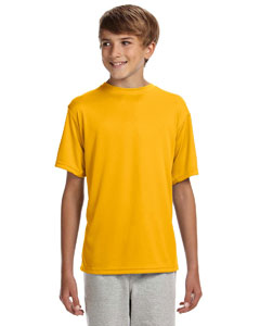 Gold Youth Cooling Performance T-Shirt