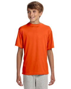 Athletic Orange Youth Cooling Performance T-Shirt
