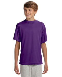 Purple Youth Cooling Performance T-Shirt