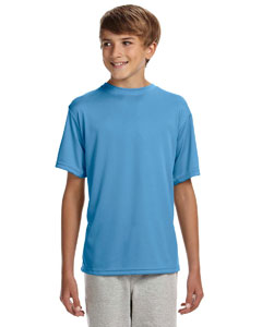 Light Blue Youth Cooling Performance T-Shirt