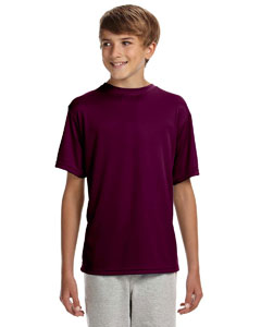 Maroon Youth Cooling Performance T-Shirt