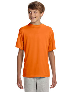 Safety Orange Youth Cooling Performance T-Shirt