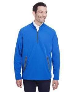 Olym Blu/ Crbn Mens Quest Stretch Quarter-Zip