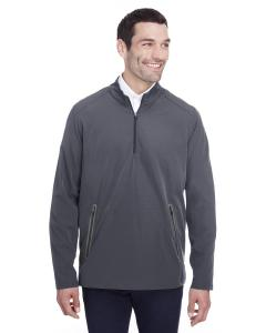 Carbon/ Black Mens Quest Stretch Quarter-Zip