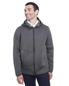 Carbon Hthr/ Blk Men's Paramount Bonded Knit Jacket
