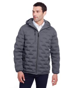 Carbon/ Black Men's Loft Puffer Jacket