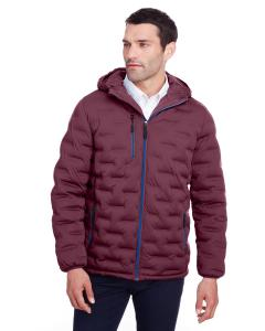 Burgndy/ Oly Blu Men's Loft Puffer Jacket