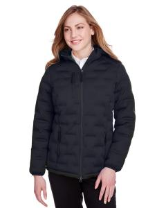 Black/ Carbon Ladies' Loft Puffer Jacket