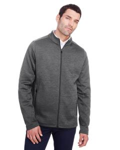 Carbon Hthr/ Blk Men's Flux 2.0 Full-Zip Jacket