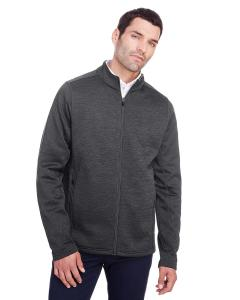 Blk Hthr/ Carbon Men's Flux 2.0 Full-Zip Jacket