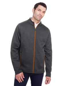 Blk Hth/ Or Soda Men's Flux 2.0 Full-Zip Jacket
