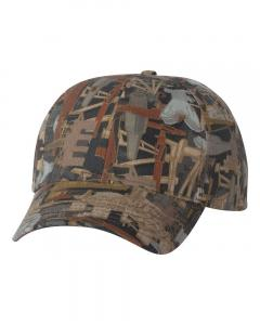 Oilfield Camo Structured Oilfield Camo Cap