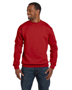 Deep Red Unisex 7.8 oz. ComfortBlend® EcoSmart® 50/50 Fleece Crew
