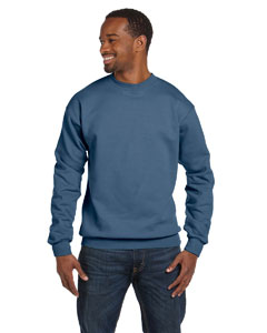 Denim Blue Unisex 7.8 oz. ComfortBlend® EcoSmart® 50/50 Fleece Crew