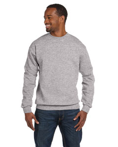 Light Steel Unisex 7.8 oz. ComfortBlend® EcoSmart® 50/50 Fleece Crew