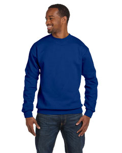 Deep Royal Unisex 7.8 oz. ComfortBlend® EcoSmart® 50/50 Fleece Crew
