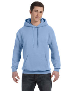 Light Blue Unisex 7.8 oz. EcoSmart® 50/50 Pullover Hood
