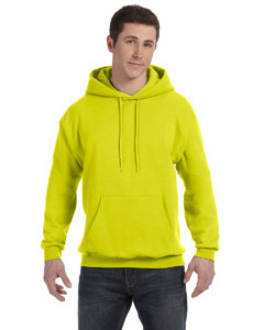 Safety Green Unisex 7.8 oz. EcoSmart® 50/50 Pullover Hood
