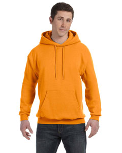 Safety Orange Unisex 7.8 oz. EcoSmart® 50/50 Pullover Hood