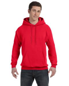 Athletic Red Unisex 7.8 oz. EcoSmart® 50/50 Pullover Hood