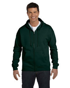 Deep Forest Adult 7.8 oz. EcoSmart® 50/50 Full-Zip Hood