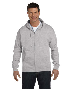 Light Steel Adult 7.8 oz. EcoSmart® 50/50 Full-Zip Hood