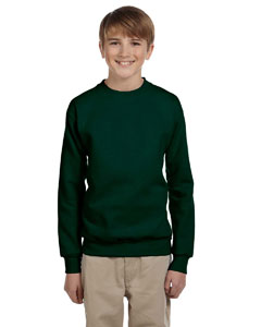 Deep Forest Youth 7.8 oz. ComfortBlend® EcoSmart® 50/50 Fleece Crew