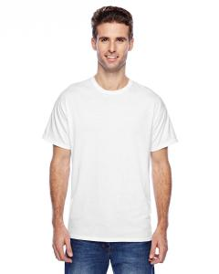 White Unisex 4.5 oz. X-Temp® Performance T-Shirt