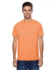 Neon Orange Hthr Unisex 4.5 oz. X-Temp® Performance T-Shirt