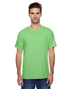 Neon Lime Hthr Unisex 4.5 oz. X-Temp® Performance T-Shirt