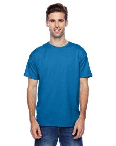 Neon Blue Hthr Unisex 4.5 oz. X-Temp® Performance T-Shirt