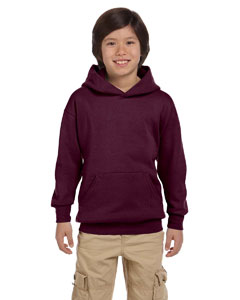 Maroon Youth 7.8 oz. ComfortBlend® EcoSmart® 50/50 Pullover Hood