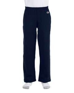 Navy Youth Eco® 9 oz., 50/50 Open-Bottom Pants
