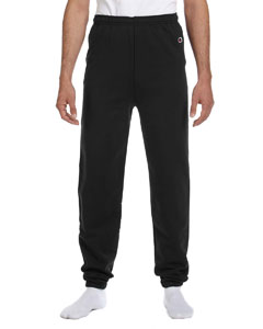 Black Adult 9 oz. Double Dry Eco® Fleece Pant