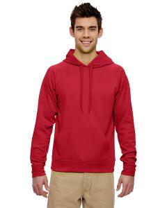 True Red Adult 6 oz. DRI-POWER® SPORT Hooded Sweatshirt