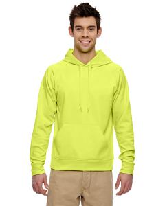 Safety Green Adult 6 oz. DRI-POWER® SPORT Hooded Sweatshirt