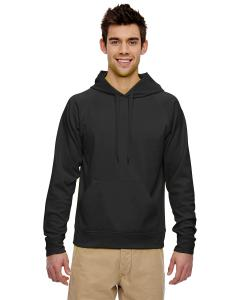 Black Adult 6 oz. DRI-POWER® SPORT Hooded Sweatshirt