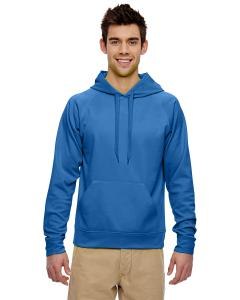 Royal Adult 6 oz. DRI-POWER® SPORT Hooded Sweatshirt