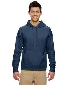 J Navy Adult 6 oz. DRI-POWER® SPORT Hooded Sweatshirt