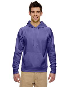 Deep Purple Adult 6 oz. DRI-POWER® SPORT Hooded Sweatshirt