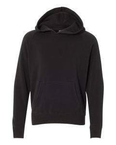 Black Youth Special Blend Raglan Hooded Sweatshirt