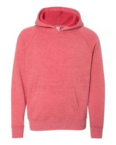 Pomegranate Youth Special Blend Raglan Hooded Sweatshirt