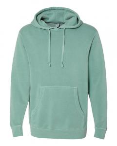 Pigment Mint Heavyweight Pigment-Dyed Hooded Sweatshirt