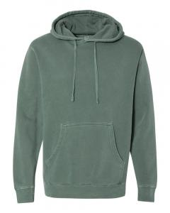 Pigment Alpine Green Heavyweight Pigment-Dyed Hooded Sweatshirt