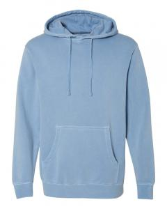 Pigment Light Blue Heavyweight Pigment-Dyed Hooded Sweatshirt