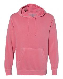 Pigment Pink Heavyweight Pigment-Dyed Hooded Sweatshirt