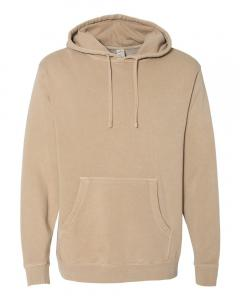 Pigment Sandstone Heavyweight Pigment-Dyed Hooded Sweatshirt