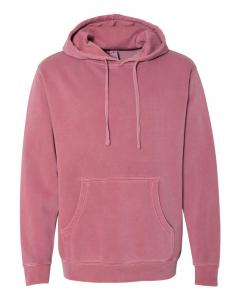 Pigment Maroon Heavyweight Pigment-Dyed Hooded Sweatshirt
