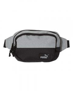Heather Light Grey/ Black Fanny Pack